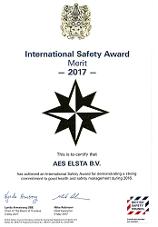 International Safety Award 2017